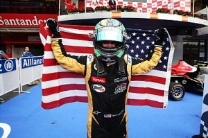 Conor Daly takes his first GP3 win in Spain c/o GP3 Media Service